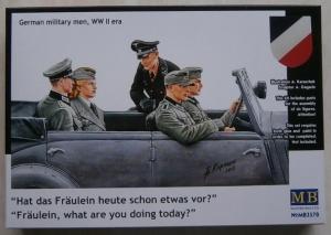 MASTERBOX 1/35 3570 GERMAN MILITARY PASSENGERS INCLUDING FRAULEIN
