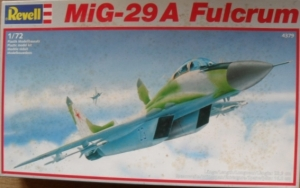 REVELL 1/72 4379 MiG-29A FULCRUM