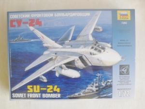 ZVEZDA 1/72 7265 Su-24 SOVIET BOMBER