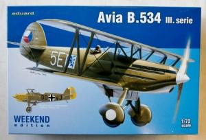 EDUARD 1/72 7429 AVIA B.534 III WEEKEND EDITION