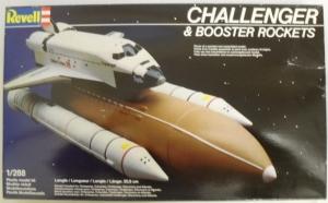 REVELL  4528 1/288 CHALLENGER   BOOSTER ROCKETS