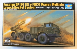 TRUMPETER 1/35 01026 RUSSIAN 9P140 TEL OF 9K57 URAGAN  UK SALE ONLY