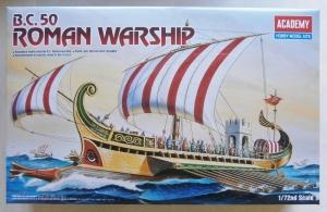 ACADEMY 1/72 14207 B.C. 50 ROMAN WARSHIP