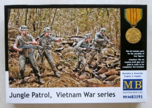 MASTERBOX 1/35 3595 JUNGLE PATROL VIETNAM WAR SERIES