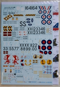XTRADECAL 1/48 48155 BAe HAWK T.1