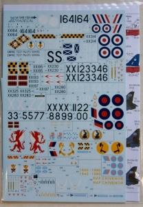 XTRADECAL 1/48 48155 BAe HAWK T.1