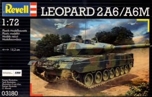REVELL 1/72 03180 LEOPARD 2A6/A6M