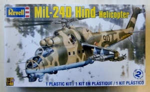 REVELL 1/48 5856 MiL-24D HIND
