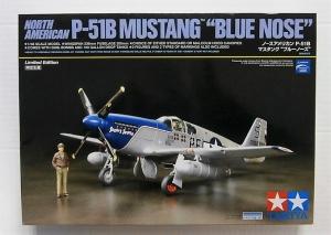 TAMIYA 1/48 92216 NORTH AMERICAN P-51B MUSTANG BLUE NOSE