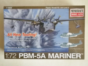 MINICRAFT 1/72 11669 PBM-5A MARINER