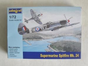 ADMIRAL 1/72 7203 SUPERMARINE SPITFIRE Mk.24