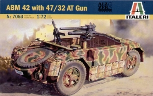 ITALERI 1/72 7053 ABM 42 WITH 47/32 AT GUN