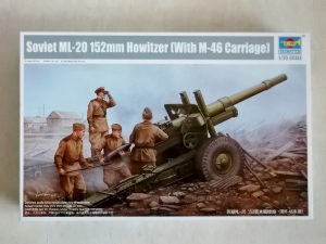TRUMPETER 1/35 02324 SOVIET ML-20 152mm HOWITZER WITH M-46 CARRIAGE