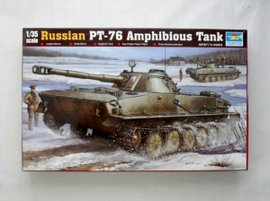 TRUMPETER 1/35 00380 PT-76 AMPHIBIOUS TANK