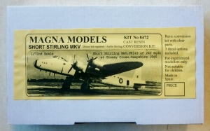 MAGNA 1/72 8472 STIRLING Mk.V CONVERSION