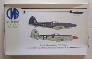 CZECH MASTER RESIN 1/72 5099 SUPERMARINE SEAFIRE FR.47