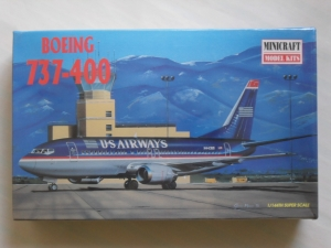 MINICRAFT 1/144 14448 BOEING 737-400 US AIRWAYS