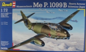 REVELL 1/72 04359 MESSERSCHMITT Me P.1099B HEAVY ARMOUR