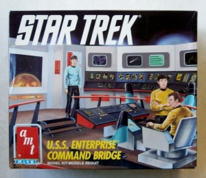 AMT  6007 STAR TREK USS ENTERPRISE COMMAND BRIDGE