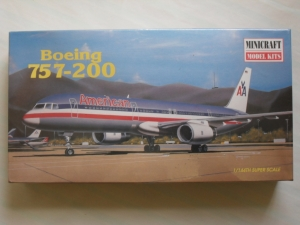 MINICRAFT 1/144 14449 BOEING 757-200 AMERICAN