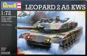 REVELL 1/72 03105 LEOPARD 2 A5 KWS