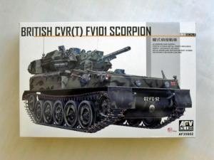 AFV CLUB 1/35 35S02 CVR T  FV101 SCORPION
