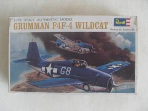 REVELL 1/72 H639 GRUMMAN F4F-4 WILDCAT