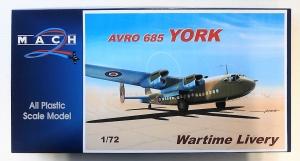 MACH 1/72 GP079 AVRO YORK WARTIME LIVERY
