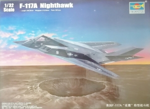 TRUMPETER 1/32 03219 F-117A NIGHTHAWK  UK SALE ONLY