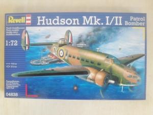 REVELL 1/72 04838 HUDSON Mk.I/II PATROL BOMBER