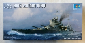 TRUMPETER 1/700 05796 HMS VALIANT 1939