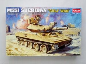 ACADEMY 1/35 13208 M551 SHERIDAN GULF WAR