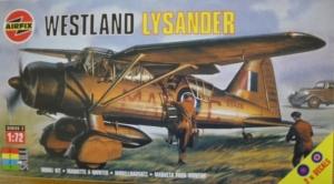AIRFIX 1/72 02053 WESTLAND LYSANDER
