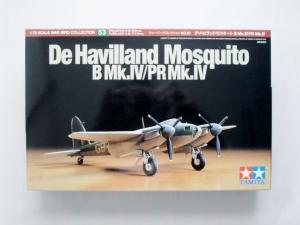 TAMIYA 1/72 60753 DeHAVILLAND MOSQUITO B Mk.IV/PR Mk.IV