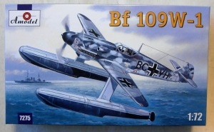 A MODEL 1/72 72075 MESSERSCHMITT Bf 109W-1