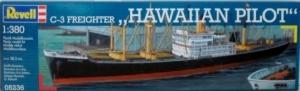 REVELL  05236 C-3 FREIGHTER HAWAIIAN PILOT 1/380