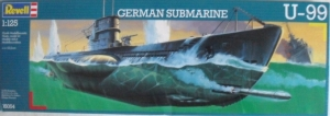 REVELL 1/125 05054 GERMAN SUBMARINE U-99