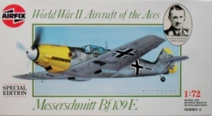 AIRFIX 1/72 02086 MESSERSCHMITT Bf 109E SPECIAL EDITION