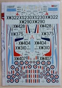 XTRADECAL 1/72 72236 RAF BAC JET PROVOST T.5