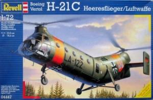 REVELL 1/72 04447 BOEING H-21C