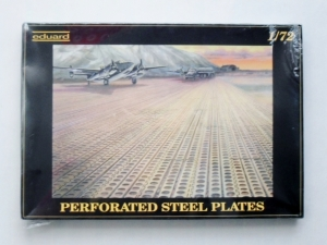 EDUARD 1/72 7701 PERFORATED STEEL PLATES