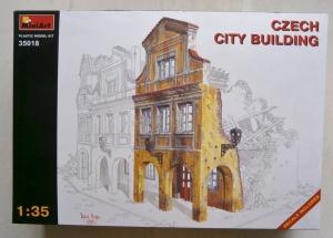 MINIART 1/35 35018 CZECH CITY BUILDING