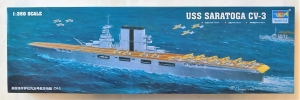 TRUMPETER 1/350 05607 USS SARATOGA CV-3  UK SALE ONLY