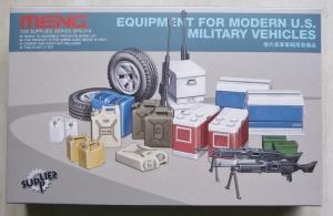 MENG 1/35 SPS-014 EQUIPMENT FOR MODERN US MILITARY VEHICLES