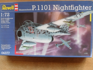REVELL 1/72 04377 MESERSCHMITT P.1101 NIGHTFIGHTER