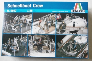 ITALERI 1/35 5607 SCHNELLBOOTE CREW