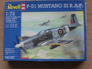 REVELL 1/72 04167 P-51 MUSTANG III RAF