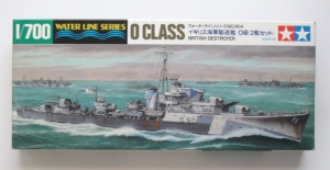 TAMIYA 1/700 31904 O CLASS BRITISH DESTROYER