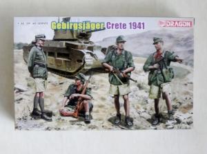 DRAGON 1/35 6742 GEBIRGSJAGER CRETE 1941
