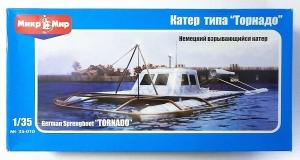 MICRO-MIR 1/35 35010 GERMAN SPRENGBOOT TORNADO